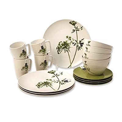 Ciroa Umbra Stoneware 16 Piece Dinner Set, Gift Boxed