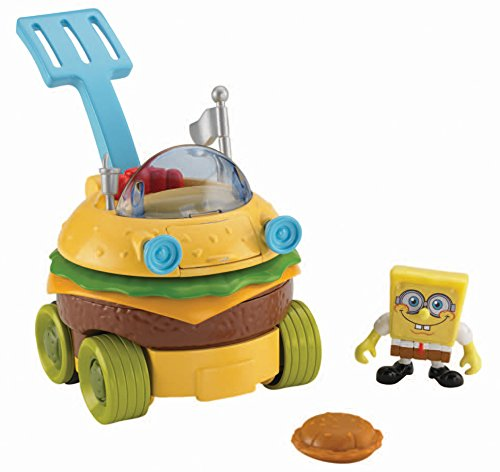 Fisher-Price Imaginext SpongeBob SquarePants Krabby Patty Wagon - 1