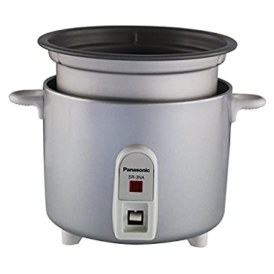 Panasonic SR3NAS 1.5-Cup Rice Cooker / Steamer by D and H Distributing Co