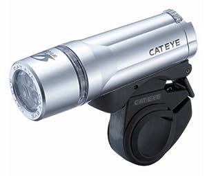 CATEYE 3 LED ROAD BIKE CYCLING HEAD LIGHT HL-EL410 SAFETY HEADLIGHT w  Red Cap by Cat Eye