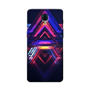 ABSTRACT ART BACK COVER FOR ONE PLUS 3