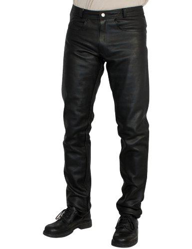 Roleff Racewear 258 Pantalon Cuir, Noir, 58