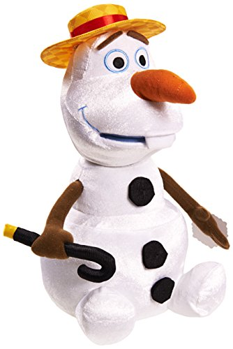 Disney Frozen Talking and Singing Olaf Plush - 1