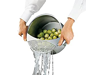 Kuchenprofi Pot-Top Strainer Sieve in 18/10 Stainless Steel
