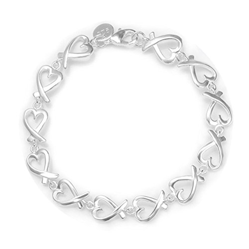 NYKKOLA Fashion Beautiful 925 Sterling Silver