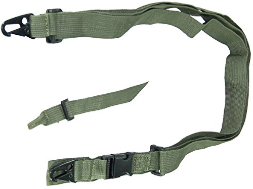 Tactical Sling Olive For Tippmann Cronus Paintball Gun, Tippmann Cronus Gun Paintball Sling, 2 Point Sling Olive For Paintball Guns, Fast Shipping