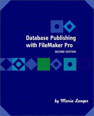 Database Publishing with FileMaker Pro