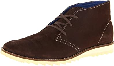Mark Nason by Skechers Men's Taswell Chukka Boot,Dark Brown,7.5 M US