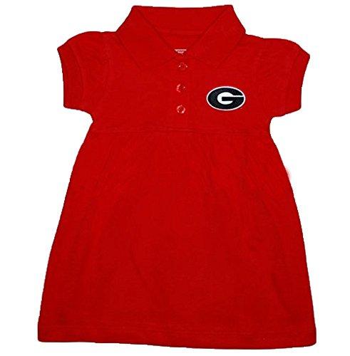 Georgia Bulldogs NCAA Newborn Baby Two Piece Dress W/ Bloomer (3-6 Months ) (Georgia Bulldogs Clothes compare prices)