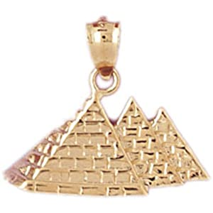 CleverEve's 14K Gold Pendant Egyptian Themed 2 - Gram(s)