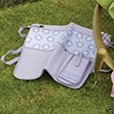 LAURA ASHLEY LAVENDER GARDEN APRON