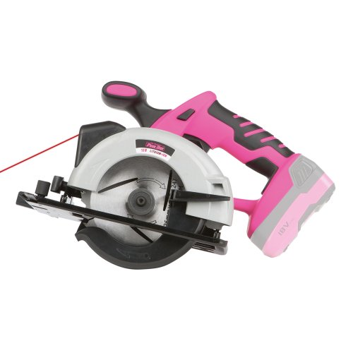 The-Original-Pink-Box-PB18VCIR-Cordless-18-Volt-Lithium-Ion-Circular-Saw-Pink