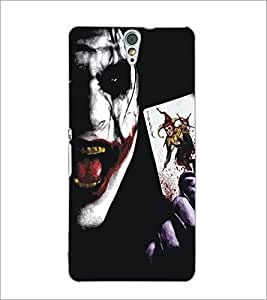 PrintDhaba Joker D-5349 Back Case Cover for SONY XPERIA C5 ULTRA (Multi-Coloured)