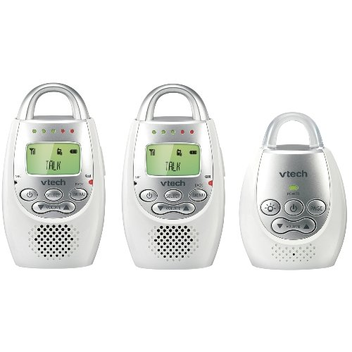 Best Review Of VTech Communications Safe & Sound Digital Audio Monitor with two Parent Units
