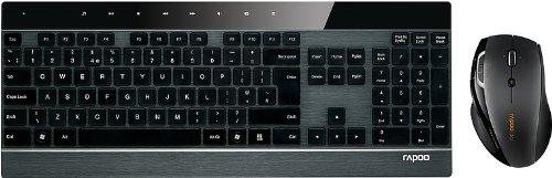 Rapoo Laser Combo 8900P schnurlos Tastatur mit Maus bei Amazon