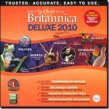 Encyclopedia Britannica 2010 Deluxe