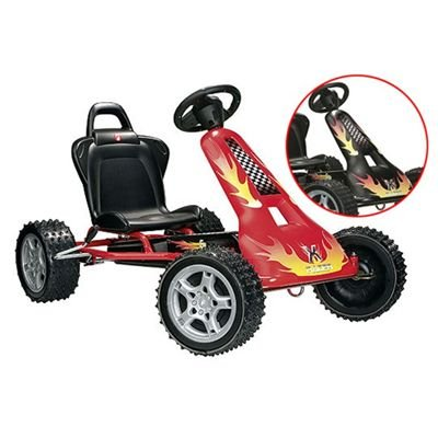 Ferbedo Cross Racer cr-2 Go Kart - Black
