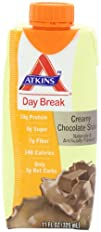 Atkins Day Break Creamy Chocolate Shake 11-Ounces 4-Count