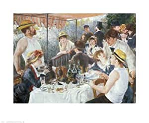 Le Dejeuner des Canotiers / Luncheon of the Boating Party, Art Poster by Pierre August Renoir