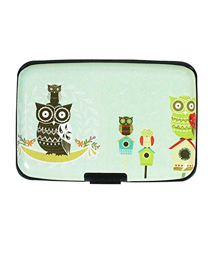 Fun Birdhouse Owl Pattern Slot Business Id Or Credit Card
