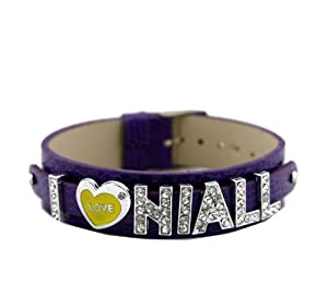 One Direction Crystal Slider Letter Wristband Bracelet - I Love Niall from Fun Daisy Jewelry