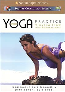 Sacred Yoga Practice with Rainbeau Mars: Vinyasa Flow - 4 Volume Gift Set (Beginners, Pure Tranquility, Pure Power, Pure Sweat)