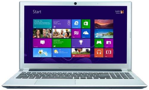Acer Aspire V5-571 15.6 inch Laptop - Silver (Intel Core i3 2365M, 8GB RAM, 750GB HDD, DVDSM DL, LAN, WLAN, BT, Webcam, Integrated Graphics, Windows 8)