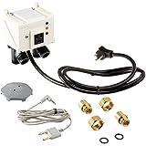 Watts 1/2 A2C-M1 IntelliFlow Automatic Washing Machine Water Shutoff Valves with Leak Sensor