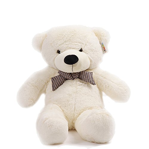 I love you Giant Huge Children Cuddly Plush Teddy Bears Stuffed Animal 120cm white (Vt Teddy Bear compare prices)