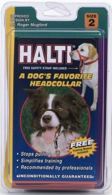 Brand New, COASTAL PET PRODUCTS, INC. - HALTI HEAD COLLAR (SIZE 2) (DOG PRODUCTS - DOG TRAINING EQUIPMENT)
