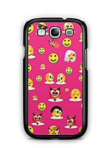 YuBingo Smileys in Various Avatars Mobile Case Back Cover for Samsung Galaxy S3 Neo