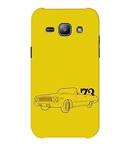 EPICCASE Vintage car 1973 Mobile Back Case Cover For Samsung J1 Ace (Designer Case)