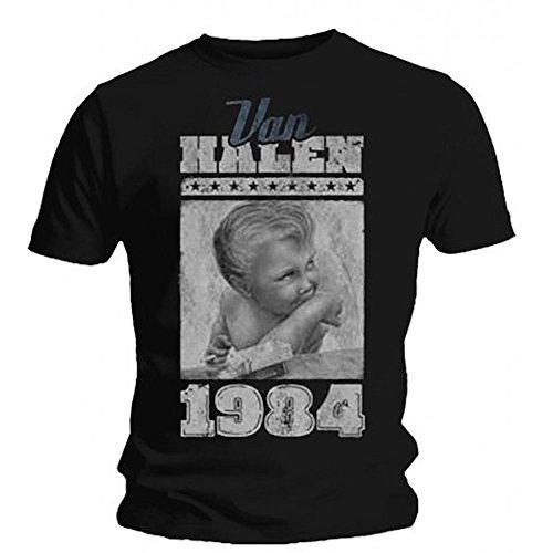 VAN HALEN - 1984 - OFFICIAL MENS T SHIRT
