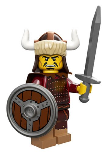 LEGO Series 12 Collectible Minifigure 71007 - Hun Warrior - 1