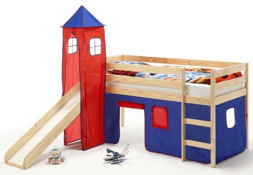 Chambre denfant lit sur lev chambre enfant toboggan - Toboggan chambre ...