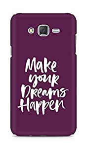 AMEZ make your dreams happen Back Cover For Samsung Galaxy J7