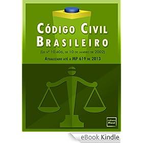 Novo Código Civil Brasileiro (Atualizado até a MP 619 de 2013)