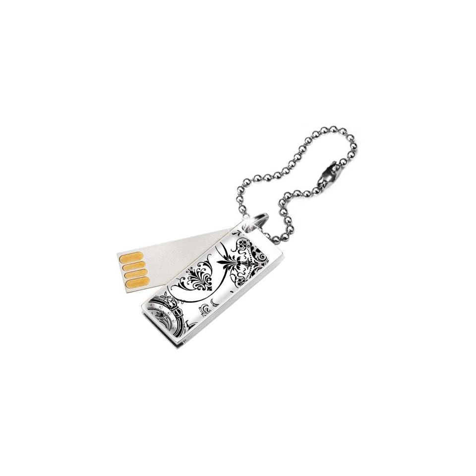 Glam Cute 2GB USB Flash Drive in Lace with Swarovski Elements