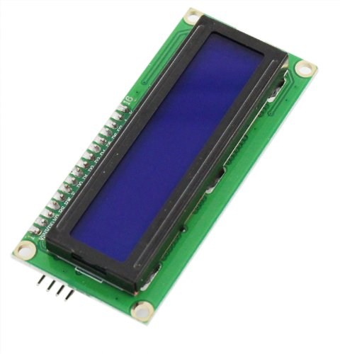 Uspro®(Blue Screen) Arduino Iic/I2C 1602 Blue Screen Lcd Module (Providing Library File)