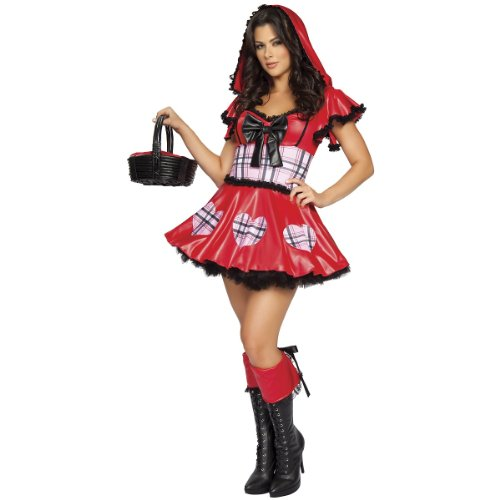Wolf Bait Costume - Medium/Large - Dress Size 6-10