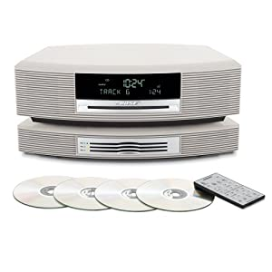Bose® Wave® Music System with Multi-CD Changer -- Platinum White