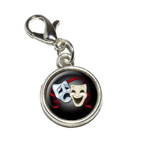 graphics-and-more-drama-comedy-tragedy-masks-acting-theatre-theater-antiqued-bracelet-pendant-zipper