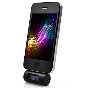 ATC FM Transmitter und Freisprecheinrichtung LCD-Display,geeignet für iPod Touch Classic Nano / iphone 4/4S