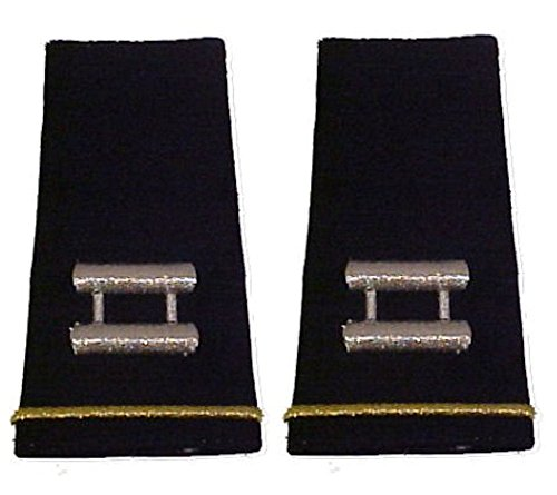 Army Uniform Epaulets - Shoulder Boards O-3 CAPTAIN