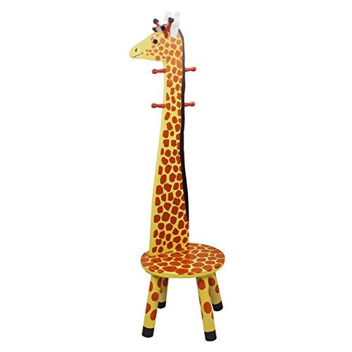 Fantasy Fields - Safari Stool W/Coat Rack - Giraffe
