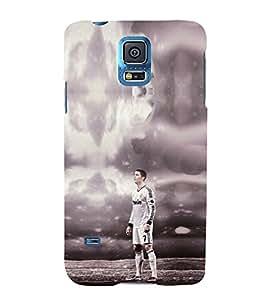EPICCASE Football Mobile Back Case Cover For Samsung Galaxy S5 (Designer Case)