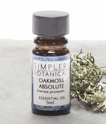 Essential Oil Oakmoss Absolute Simplers Botanicals 5 ml Liquid