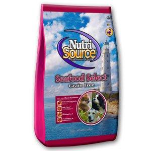 NutriSource Grain Free Seafood Select Dry Dog Food 30-lb bag