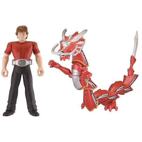 Kamen Rider Dragon Knight TV Series 4 Inch Tall Action Figure with Robot Figure Set - DRAGREDER the Advent Dragon Beast and KIT Plus Advent Card