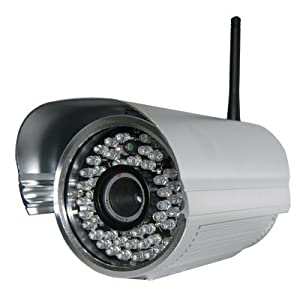 Foscam FI8905W Outdoor Wireless IP Camera, 6mm Lens, Silver